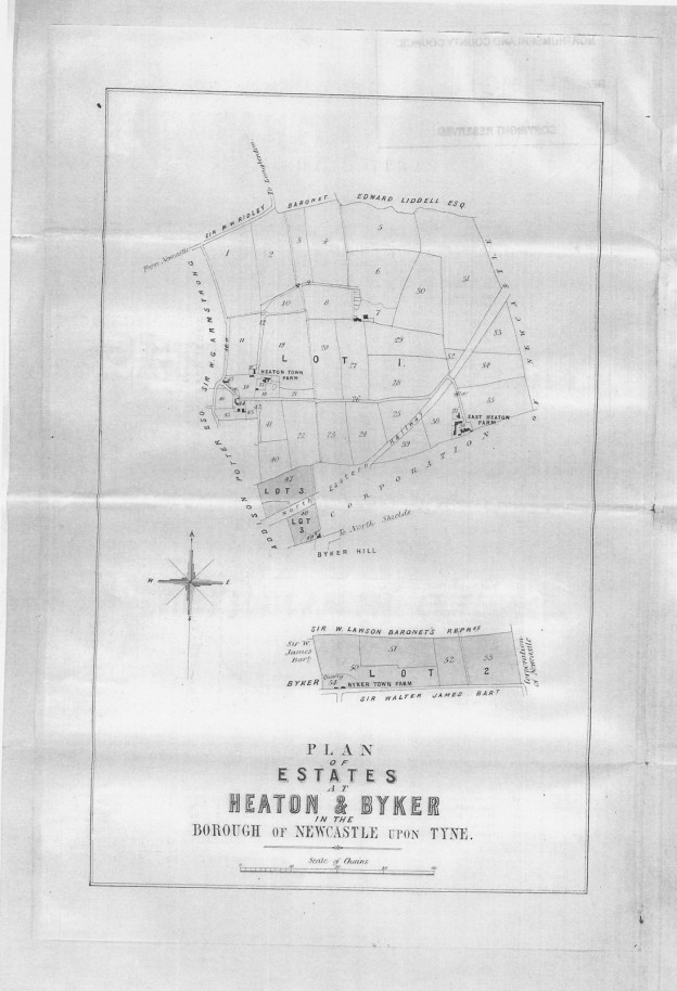 Map of Heaton