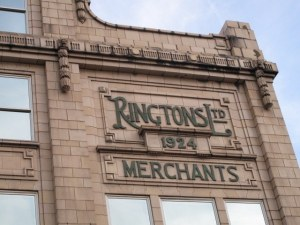 The original Ringtons building.