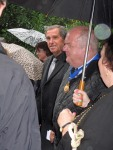 Bob Moncur, Lord Mayor and party