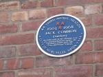 Jack Common plaque