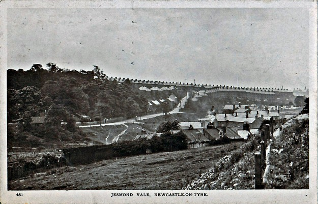 Image of Jesmond Vale from an old postcard