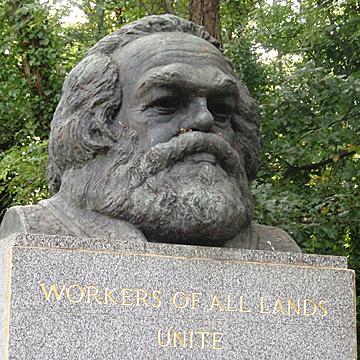 Karl Marx headstone