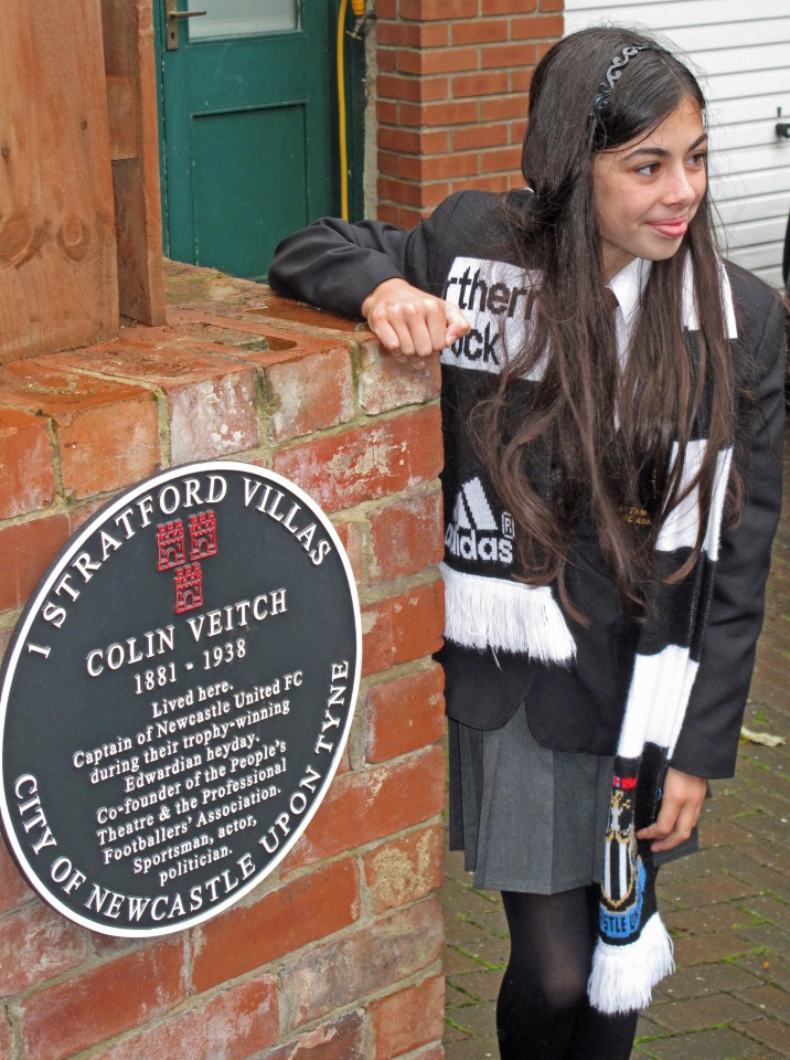 Colin Veitch's great great great niece