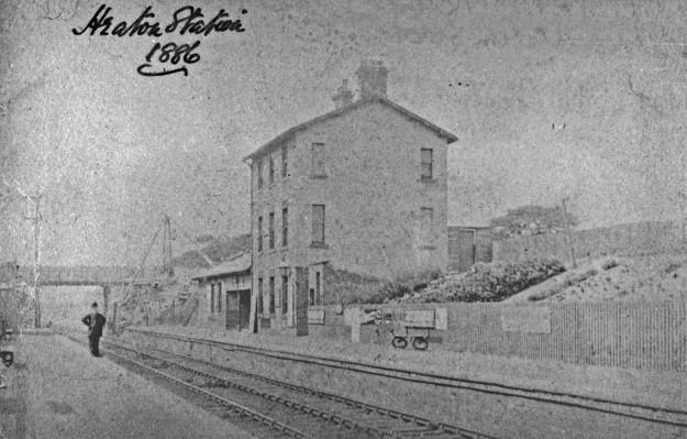 The original Heaton Station