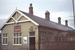 Heaton Station, 1972