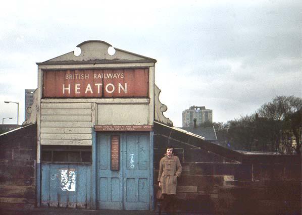 Heaton station