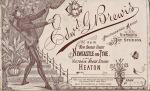 Brewis business card