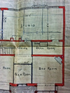 Plans for Brewis's house
