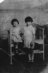 Christina and Mary Gazzilli Junior as children