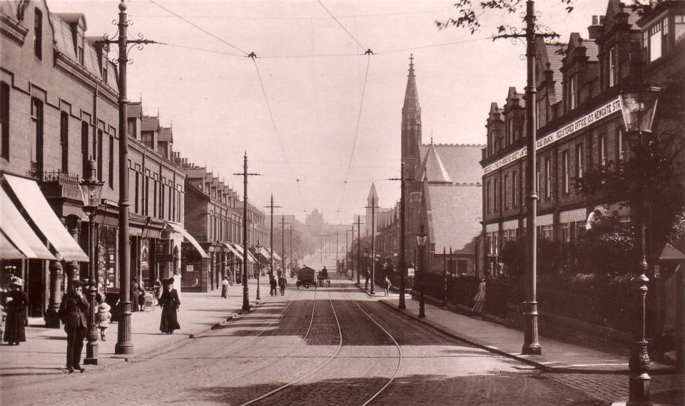 Heaton Road, looking South