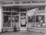 Heaton Ice Cream Parlour in the late 1980s