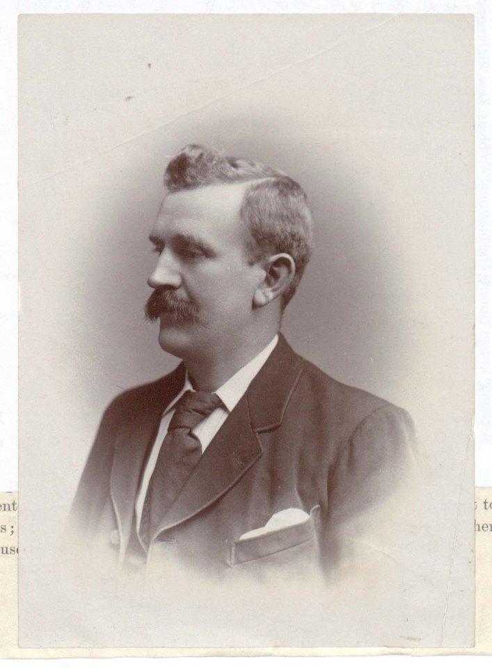 George Waller as an older man photgraphed by Edward George Brewis