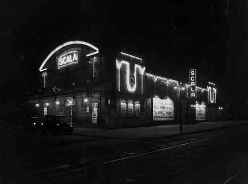Scala Cinema by night