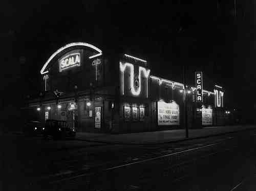 Scala Cinema by night