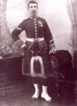 Private Lawson of the Gordon Highlanders
