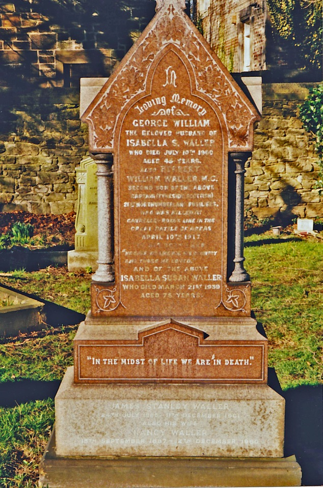 George Waller's grave