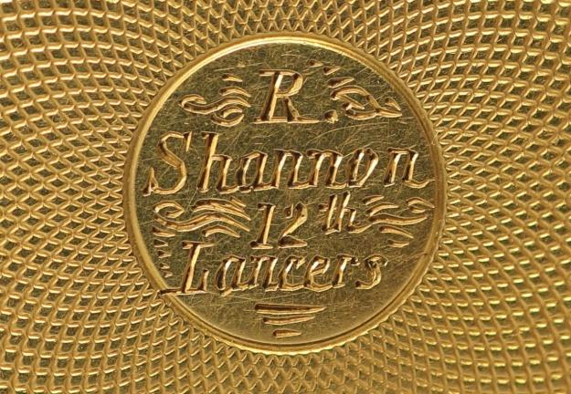 Richard Shannon's watch