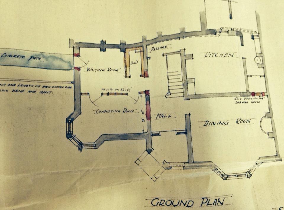 Plans of Craigielea 1930s