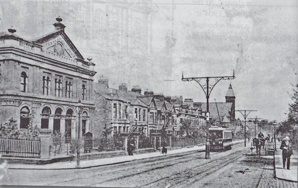 Leighton Primitive Methodist Chapel c 1910