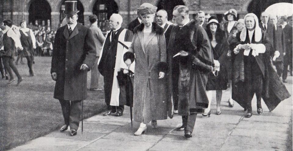 Royal visit to Heaton Sec Schools