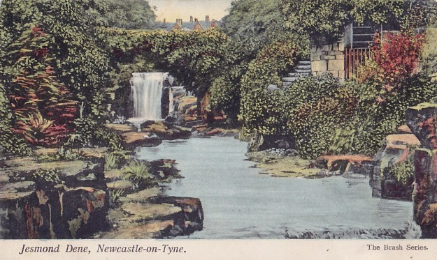Another early 20C card of Jesmond Dene by Alexander Denholm Brash