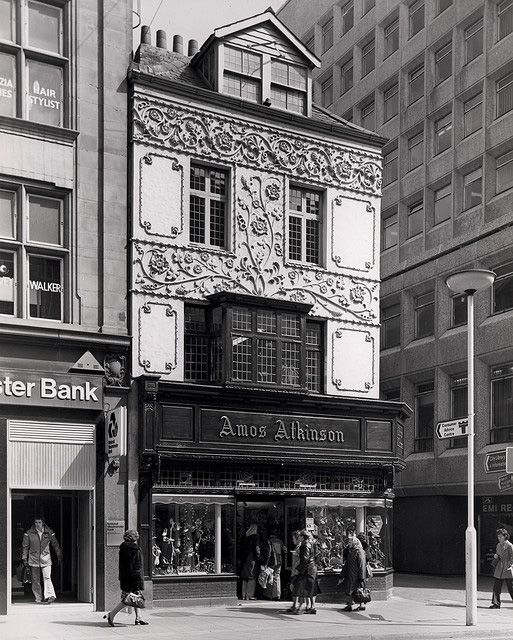 Amos Atkinson's, Northumberland Street in the 1970s