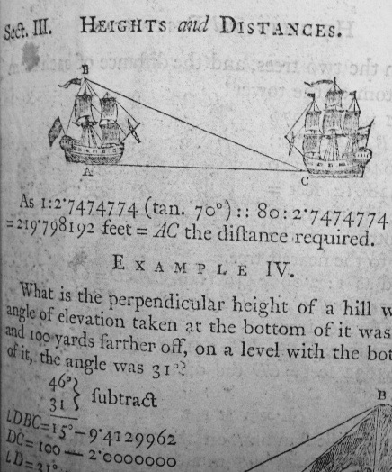 Extract from Hutton's book with Thomas Bewick engravings