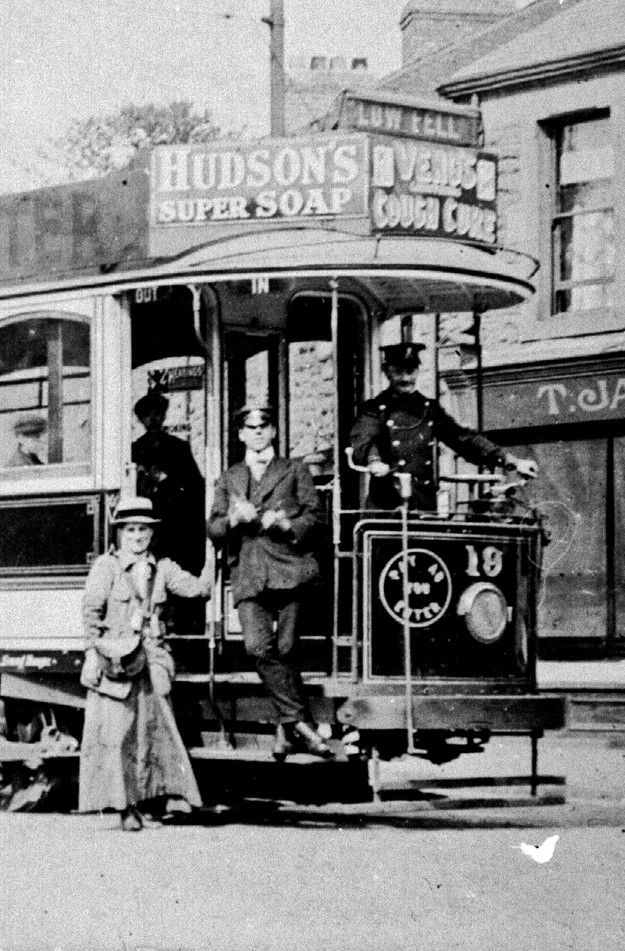 Rose Vanner, Gateshead's first lady tram conductress in 1916