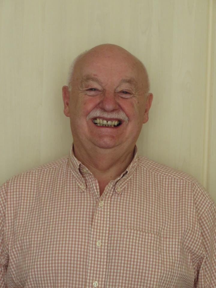 Heaton History Group member, Arthur Andrews
