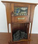 John Castle's smoking cabinet