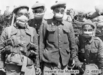 WW1 Protection against gas attack St Julien