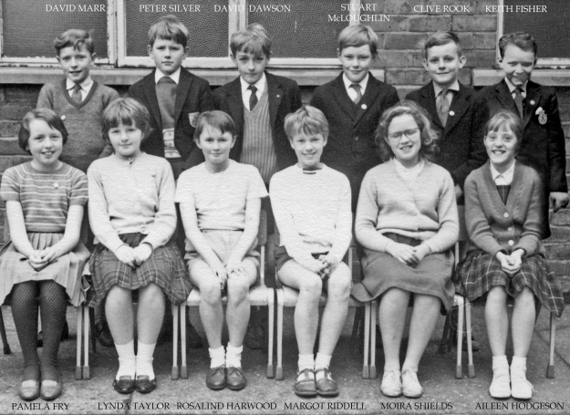 Chillingham Road School prefects, 1964