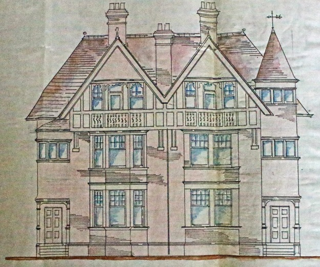 Hope and Maxwell's plans for Coquet Villa and Redthorpe next door