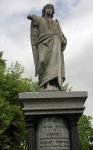 Headstone of George Thompson, Coquet Villa