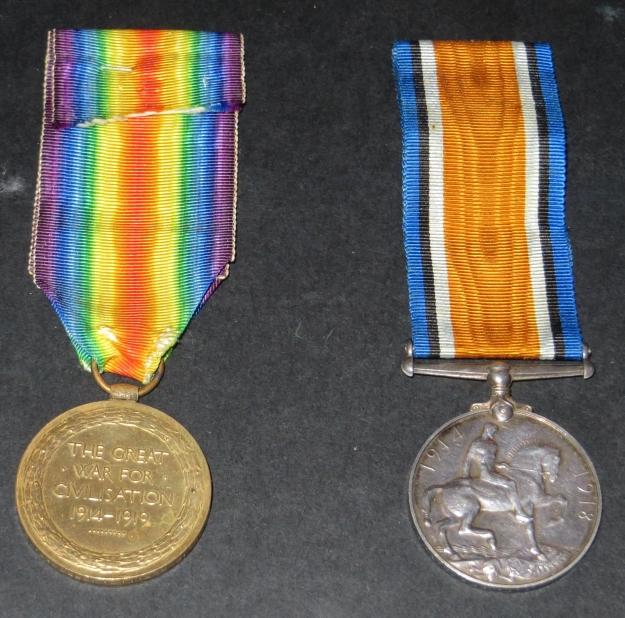Leslie Jeffcoat's medals
