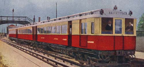 The type of passenger train William Skinner was driving in 1926