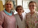 Margaret, Olive and Julia, 2015