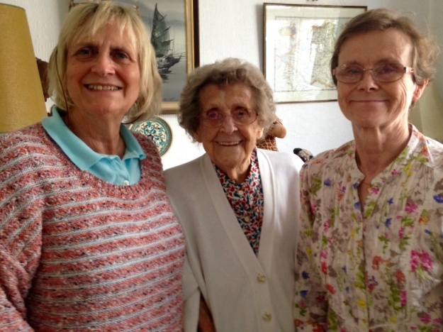 Margaret, Olive and Julia, 2015
