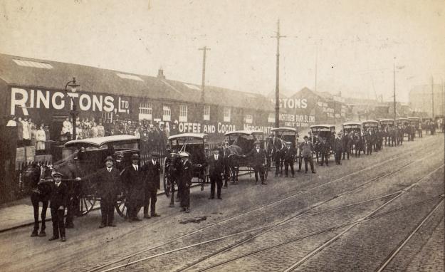 Ringtons, Shields Rd c1912