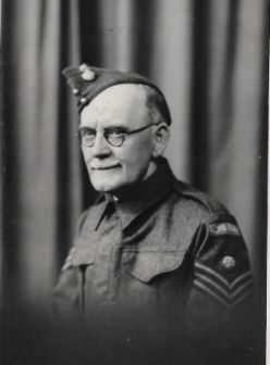 Frank Topping, Home Guard, 1942