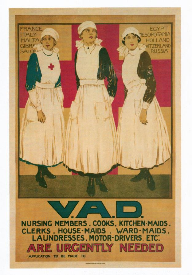VAD recruitment poster