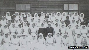Staff of the Liverpool Merchants' Hospital