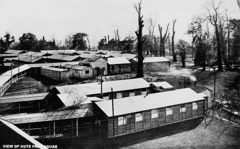 Some of the buildings at Harefield Park