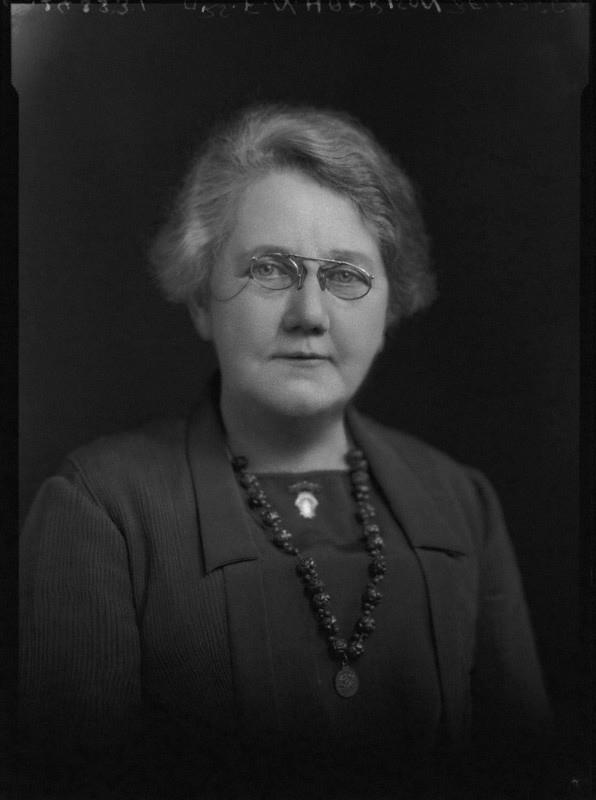 NPG x47718; Mrs F.N. Harrison Bell by Lafayette (Lafayette Ltd)