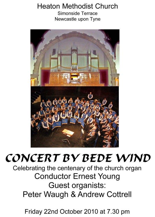 Organ Centenary Concert - Programme