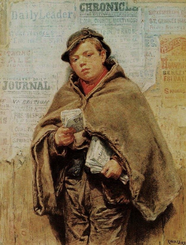 Hedley1892 Newsboy