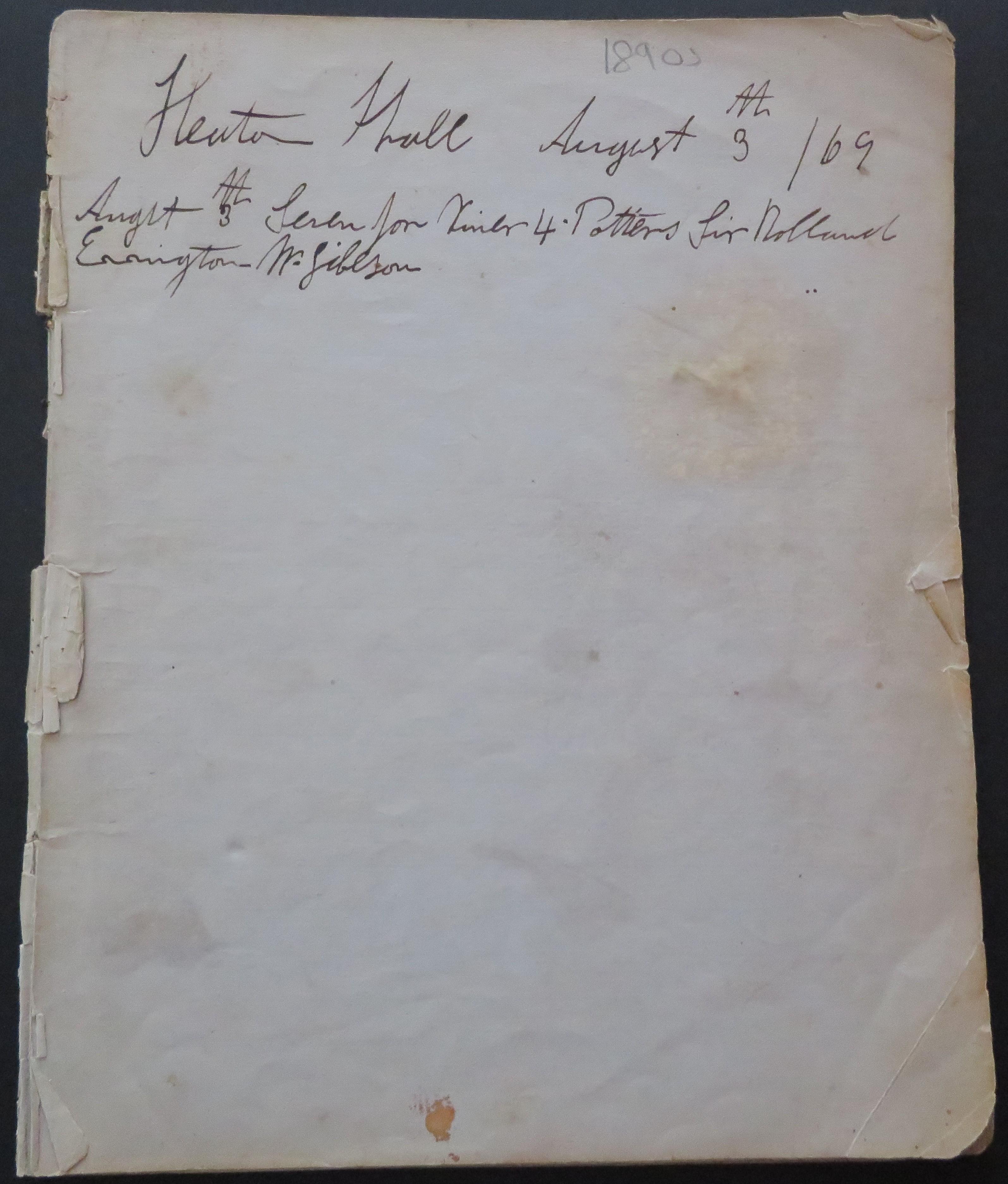 HeatonHallrecipesFirstPage1869