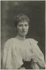 Gertrude Bell aged 26