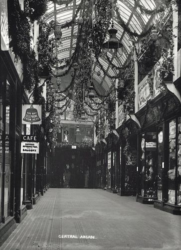 046892:Central Arcade Newcastle upon Tyne unknown December 1906