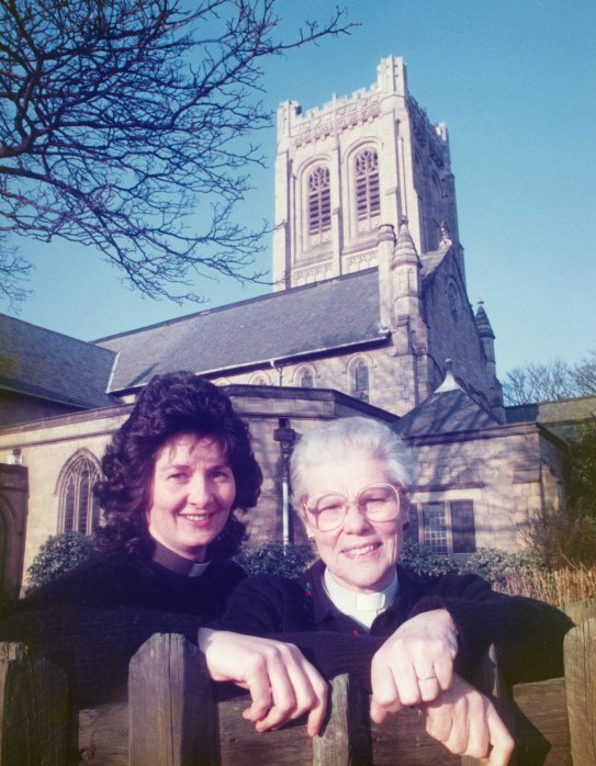 St Gabriels women priests Joan & Mary